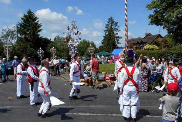Street Fair Morris Dancers